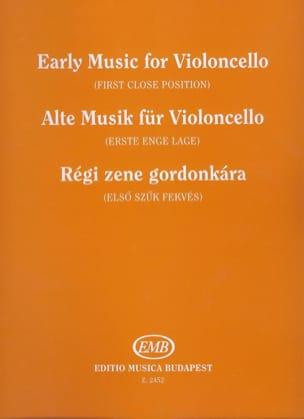 Ferenc Brodszky - Alte Musik für Violoncello - Partition - di-arezzo.fr