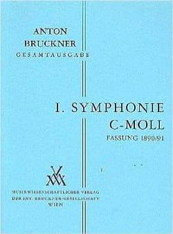 Anton Bruckner - Symphonie Nr. 1 c-moll 1890-91 - Vol 2 Dirigierpartitur - Partition - di-arezzo.fr