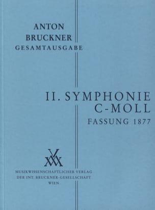 Anton Bruckner - Symphony Nr. 2 c-moll 2. Fassung 1877 - [Bd. 2/2] - Partition - di-arezzo.co.uk