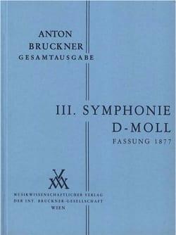 Anton Bruckner - Symphonie Nr. 3 d-moll (1877) –(Vol 2) - Partition - di-arezzo.fr