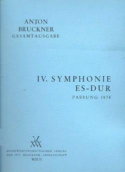 Anton Bruckner - Symphony Nr. 4 Es-Dur 1. Fassung 1874 [Bd. 4/1] - Sheet Music - di-arezzo.co.uk