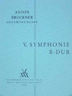 Anton Bruckner - Symphony Nr. 5 B-Dur - Partition - di-arezzo.co.uk