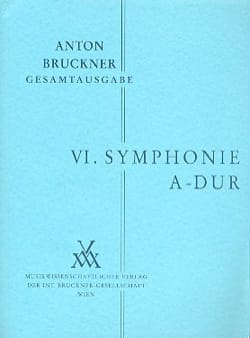 Symphonie Nr. 6 A-Dur -Studienpartitur BRUCKNER laflutedepan