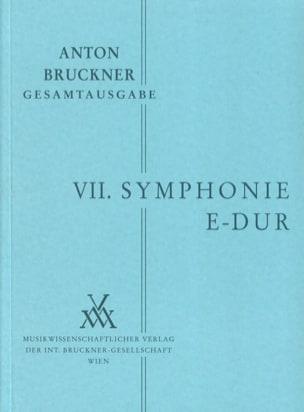 Symphonie Nr. 7 E-Dur 1883 BRUCKNER Partition laflutedepan