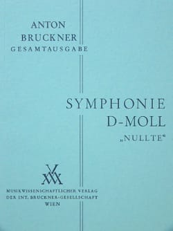 Symphonie Nr. 0 d-moll Vol 11 - BRUCKNER - laflutedepan.com