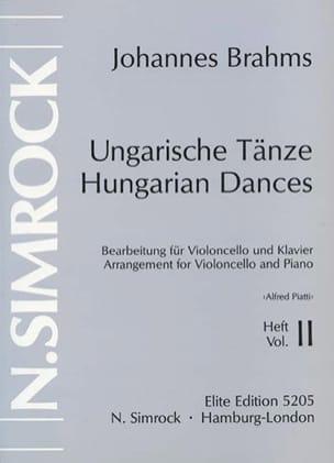 Danses hongroises, Volume 2 - BRAHMS - Partition - laflutedepan.com