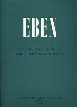 Petr Eben - Suita Balladica - Partition - di-arezzo.fr