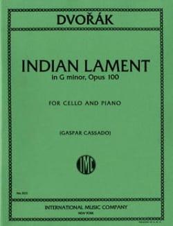 Indian Lament G minor, op. 100 - Antonin Dvorak - laflutedepan.com
