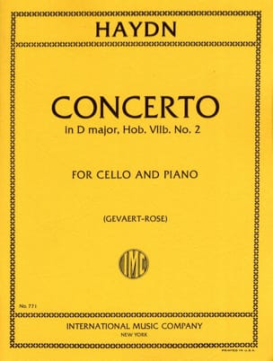 Concerto in D major Hob 7 n° 2 – Cello - laflutedepan.com