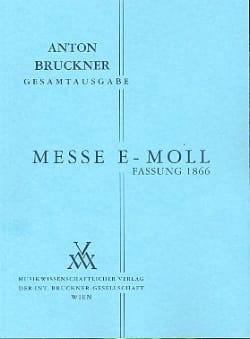 Messe e-moll 1. Fassung 1866 - BRUCKNER - Partition - laflutedepan.com