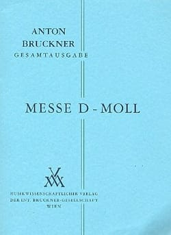 Messe d-moll - Anton Bruckner - Partition - laflutedepan.com