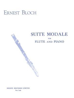 Ernest Bloch - Suite modale - Partition - di-arezzo.fr