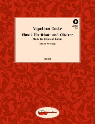 Music for Oboe and Guitar - Napoléon Coste - laflutedepan.com