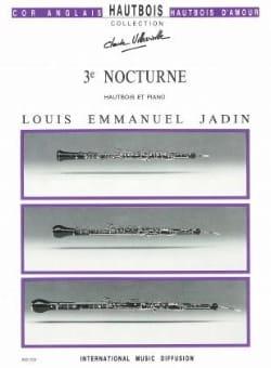 Louis Emmanuel Jadin - 3ème Nocturne - Partition - di-arezzo.fr