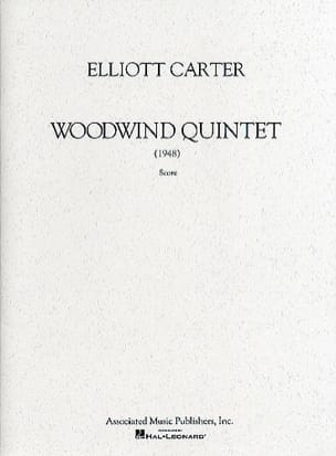 Elliott Carter - Woodwind Quintet – Score - Partition - di-arezzo.fr