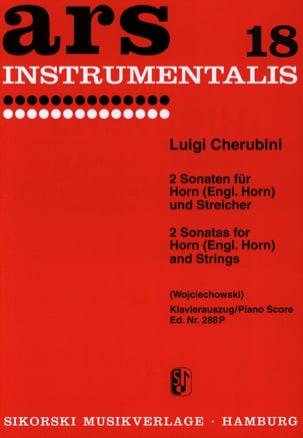 Luigi Cherubini - 2 Sonaten für Horn Engl. Horn und Streichorchester - Sheet Music - di-arezzo.com