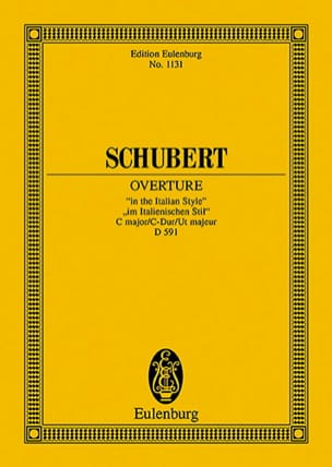 Ouverture C-Dur D 591) - SCHUBERT - Partition - laflutedepan.com