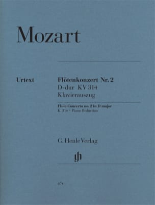 MOZART - Flute Concerto No. 2 in D major K. 314 - Sheet Music - di-arezzo.com