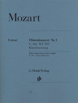 MOZART - Flute Concerto No. 1 in G major K. 313 - Sheet Music - di-arezzo.co.uk