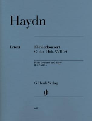 HAYDN - Klavierkonzert G-Dur Hob 18 : 4 -Stimmen - Partition - di-arezzo.fr