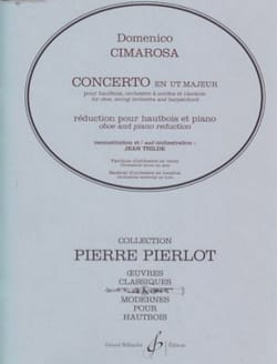 Domenico Cimarosa - Concerto in C Major for Oboe - Sheet Music - di-arezzo.co.uk