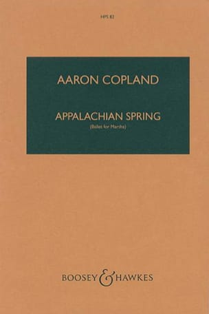 Aaron Copland - Appalachian Spring - Sheet Music - di-arezzo.co.uk