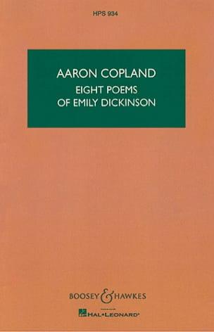 Eight Poems of Emily Dickinson - Aaron Copland - laflutedepan.com