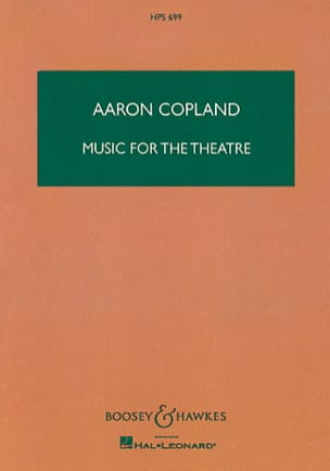 Music for the Theatre - Aaron Copland - Partition - laflutedepan.com