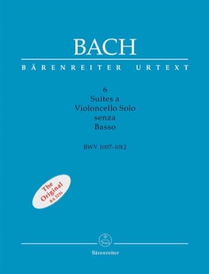 BACH - 6 Suiten für Cello Alone ohne Bass BWV 1007-1012 - Noten - di-arezzo.de