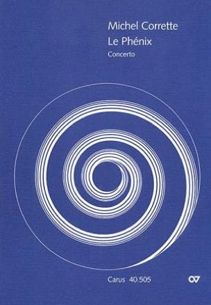 Michel Corrette - Concerto The Phoenix - Partitur - Sheet Music - di-arezzo.com