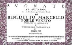Benedetto Marcello - Suonate a flauto solo con il suo basso continuo - Partition - di-arezzo.fr