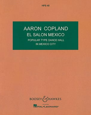 Aaron Copland - El Salon Mexico - Score - Sheet Music - di-arezzo.co.uk