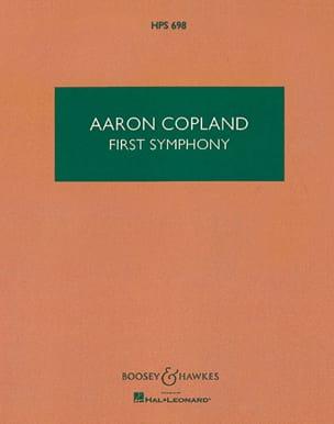 First Symphony - Score - Aaron Copland - Partition - laflutedepan.com