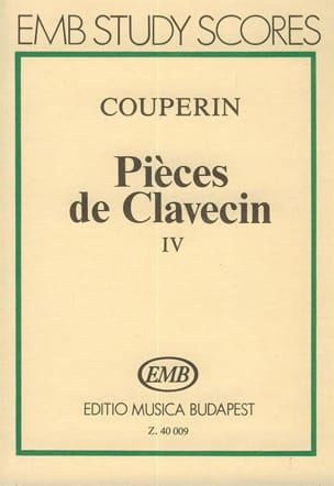 Pièces de clavecin - Volume 4 – Score - laflutedepan.com
