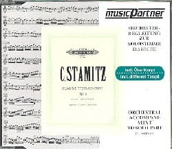 Carl Stamitz - Klarinettenkonzert N ° 3 B Hard - Sheet Music - di-arezzo.co.uk