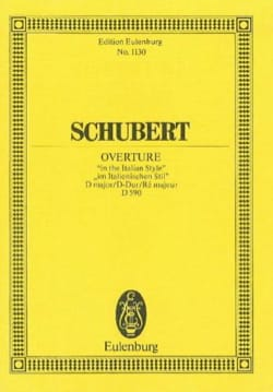 SCHUBERT - Open D-Dur D 590 - Sheet Music - di-arezzo.co.uk