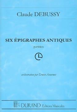 Six Epigraphes Antiques pour Orchestre - laflutedepan.com