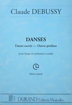 DEBUSSY - Danzas - arpa y orquesta de cuerdas - Partitura - di-arezzo.es