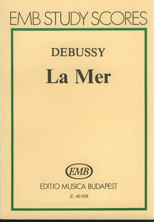 DEBUSSY - The Sea - Partitur - Sheet Music - di-arezzo.com