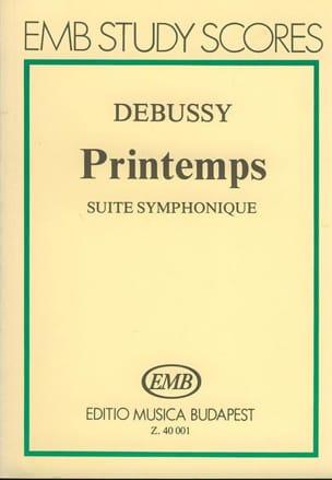 Printemps - Partitur - DEBUSSY - Partition - laflutedepan.com