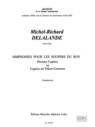 Symphonies pour les soupers du Roy - 1er Caprice - laflutedepan.com