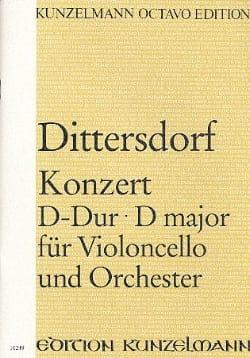 Carl Ditters von Dittersdorf - Konzert D-Dur für Violoncello – Partitur - Partition - di-arezzo.fr