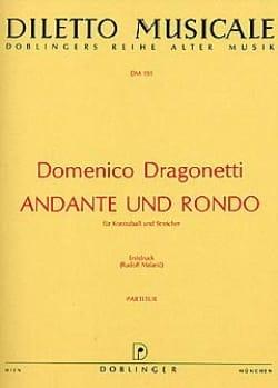 Domenico Dragonetti - Andante Et Rondo - Partition - di-arezzo.fr