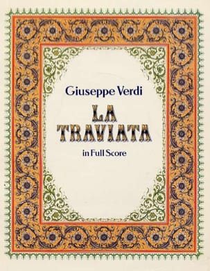 La Traviata VERDI Partition Grand format - laflutedepan
