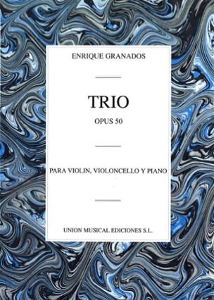 Enrique Granados - Trio op. 50 - Sheet Music - di-arezzo.co.uk