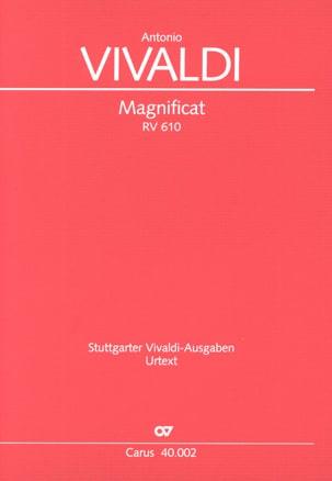 VIVALDI - Magnificat RV 610 - Partitur - Sheet Music - di-arezzo.com