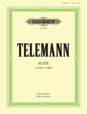 TELEMANN - Suite in the Miner - Sheet Music - di-arezzo.com