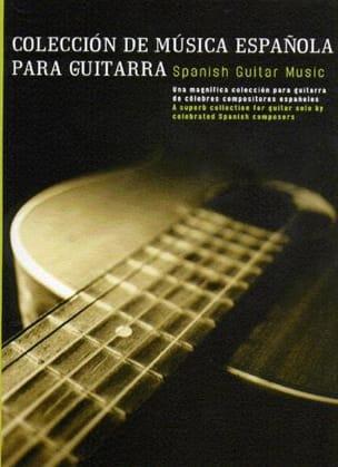 Coleccion de musica espanola –Guitarra - Partition - di-arezzo.fr