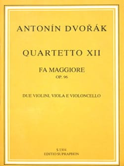 String quartet n° 12 in F major op. 96 - Partitur DVORAK laflutedepan