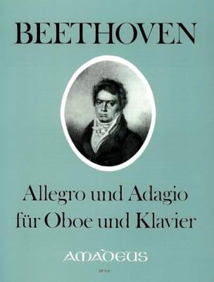 Ludwig van Beethoven - Allegro und Adagio – Oboe Klavier - Partition - di-arezzo.fr
